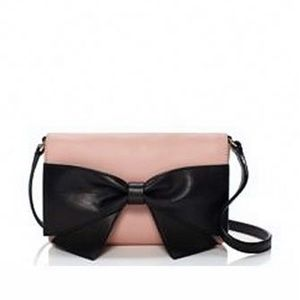 Kate Spade Bow Leather Cross Body Bag on sale
